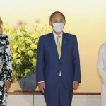 Jill Biden In Tokyo For Olympic Games, Meets Prime Minister