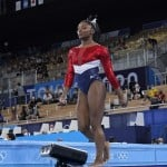 Column: For Simone Biles, It Finally All Becomes Too Much