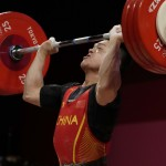 Olympics Latest: Shi Wins Weightlifting Gold Medal
