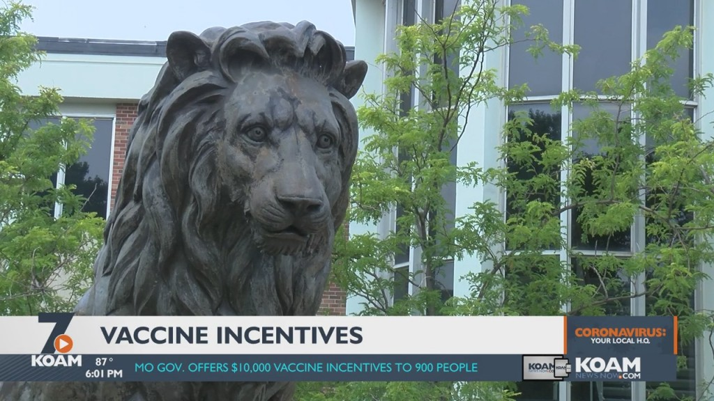 Missouri Offers Incentives For Residents To Get Vaccinated