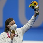 """""""just Proud"""": Ledecky Finally Wins Gold At Tokyo Olympics"""