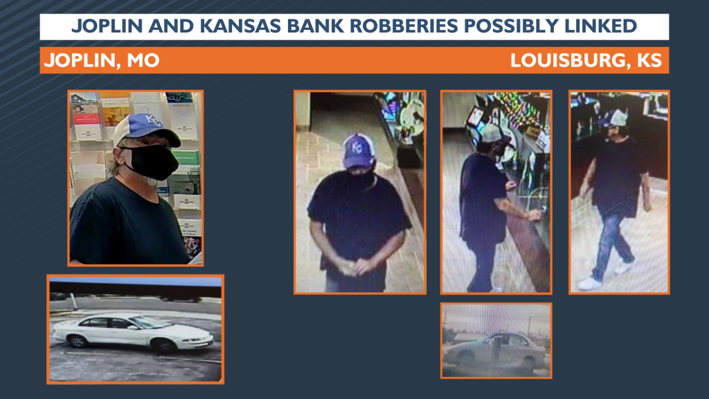 Joplin And Kansas Bank Robberies Possibly Linked