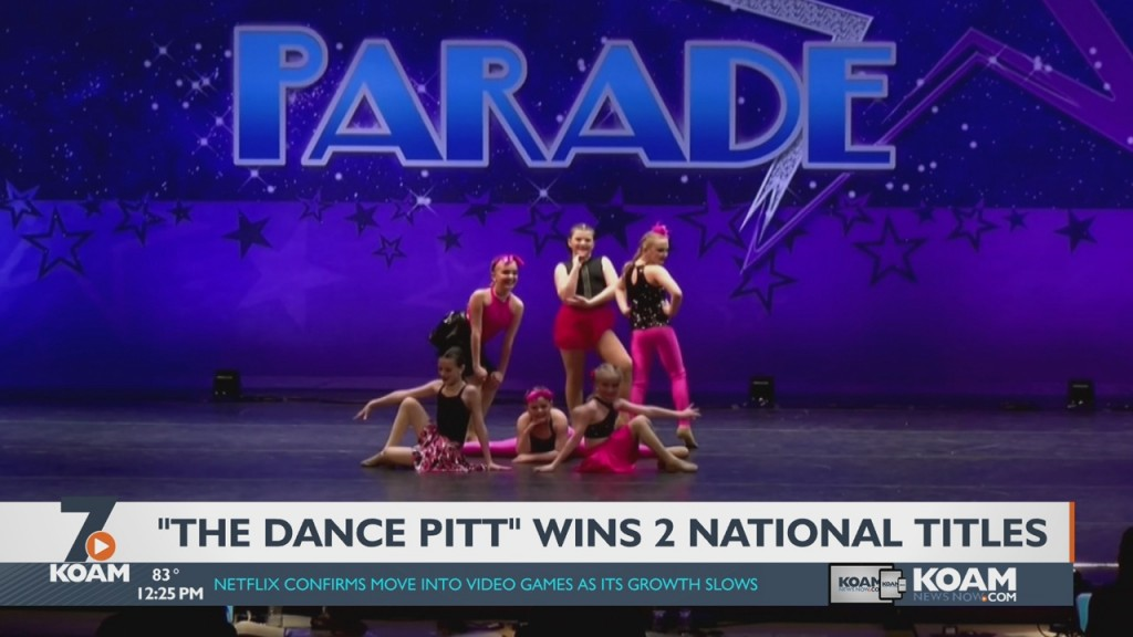 """Frontenac's """"the Dance Pitt"""" Takes Home National Awards"""