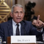 The Latest: Fauci: Cdc May Back Wearing Face Masks More