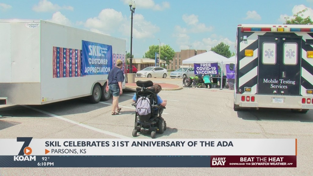 Center In Parsons Celebrates The 31st Anniversary Of The Americans Disability Act
