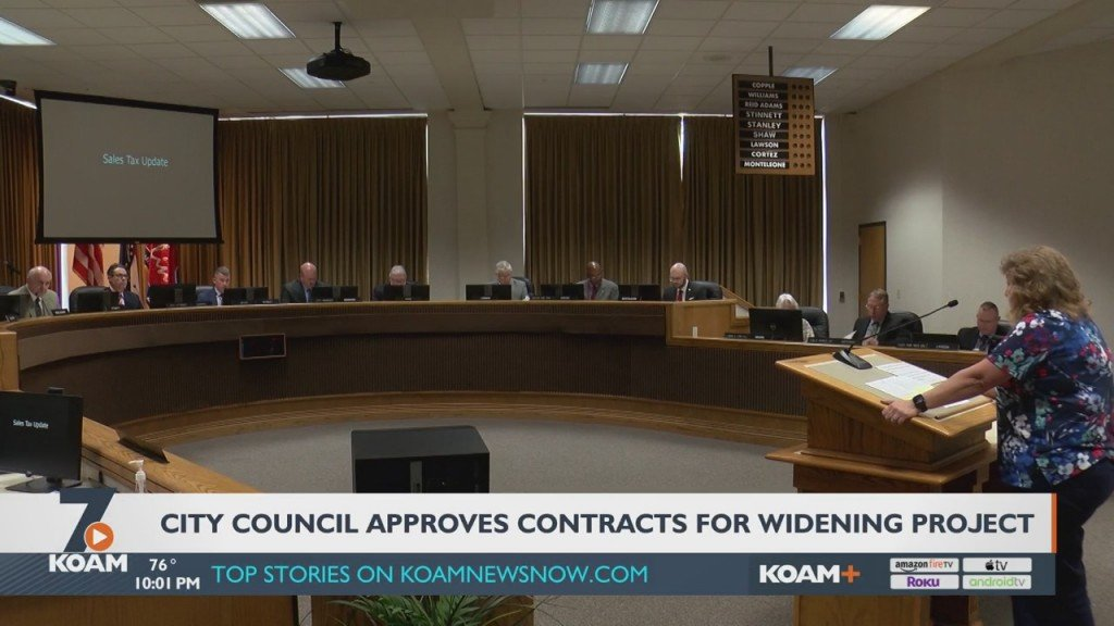 The Joplin City Council Finalized A Contract For The 32nd Street Widening Project And Approved Another One On First Reading