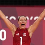 Olympics Latest: Us Women's Volleyball Makes It To Semis