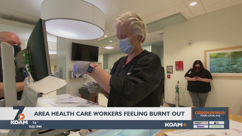 Healthcare Workers In Joplin Are Feeling A Heavy Toll On Their Mental Health.