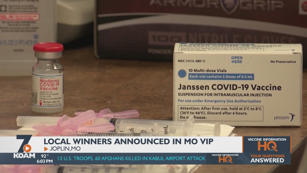 First Round Of Winners For Missouri's Vip Program Announced