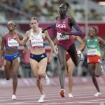 Olympics Latest: Mu Wins Gold For Us In Women's 800 Meters