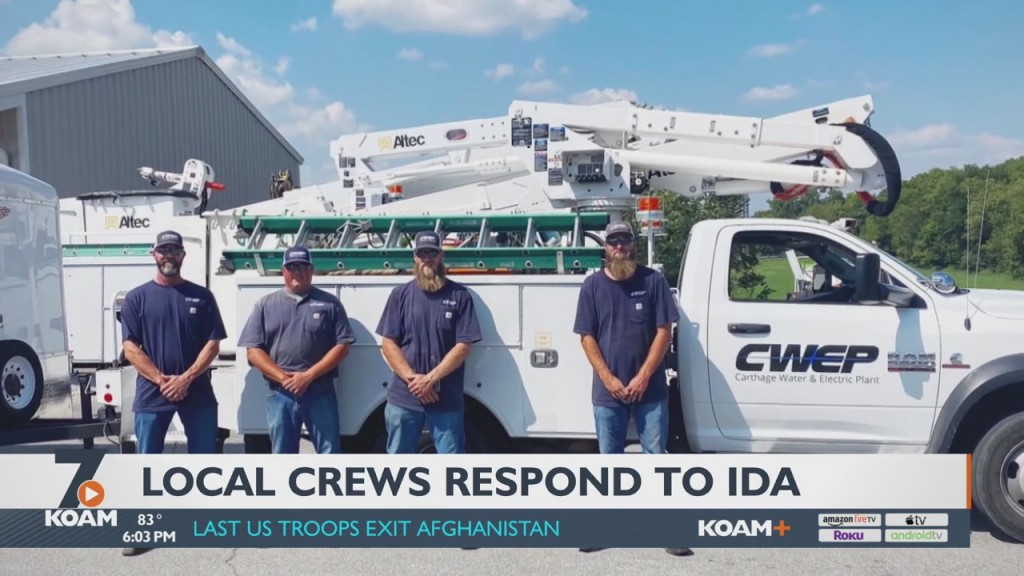 Local Crews Respond To Calls For Mutual Aid After Ida Hits South
