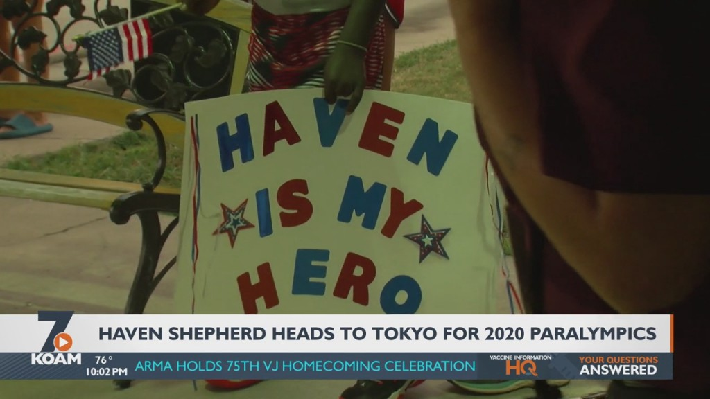 Local Swimmer Haven Shepherd Had A Big Day On Saturday As She Heads To Tokyo For The Paralympics