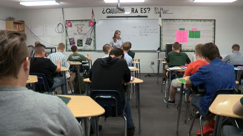 Students At College Heights Hit The Books On The First Day Of Classes