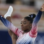 Olympics Latest: Biles Warming Up For Olympic Beam Final