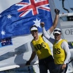 Olympics Latest: Australia Wins Gold In Two Person Dinghy