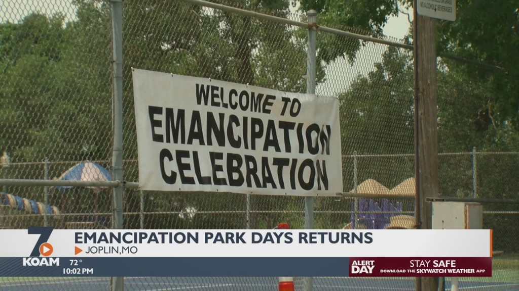 Emancipation Park Days Makes A Return To Joplin As 4 Staters Celebrate The End Of Slavery