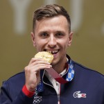 The Latest: Quiquampoix Wins Gold In Rapid Fire Pistol