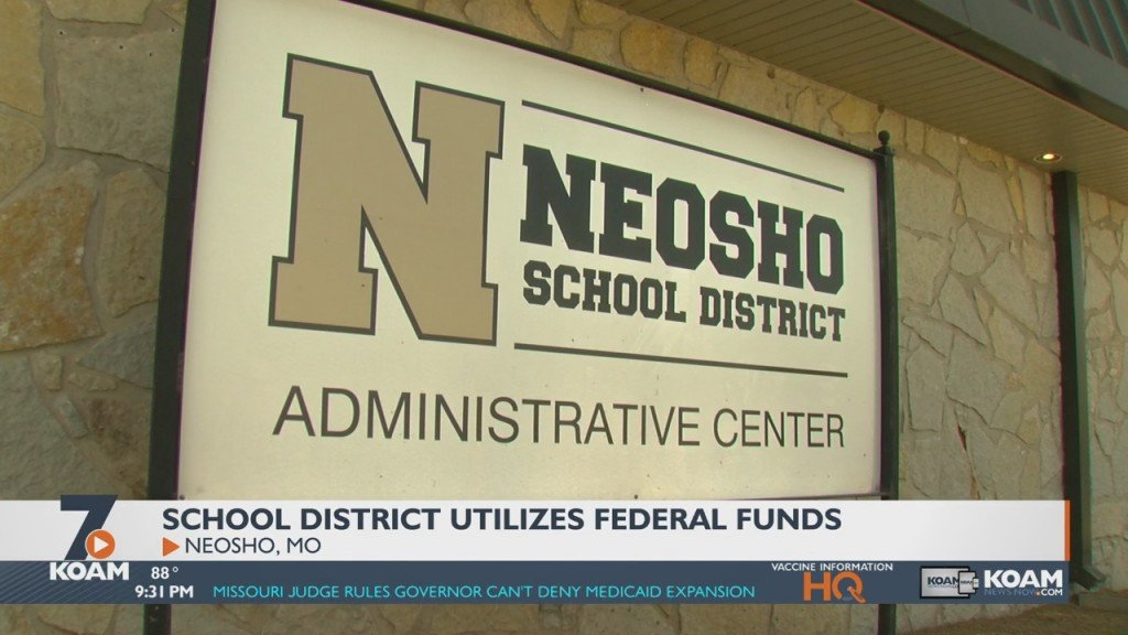 Neosho School District's Plan For Covid 19 Relief Funds
