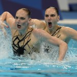 Olympics Latest: Russian Pair Wins Artistic Swimming Gold