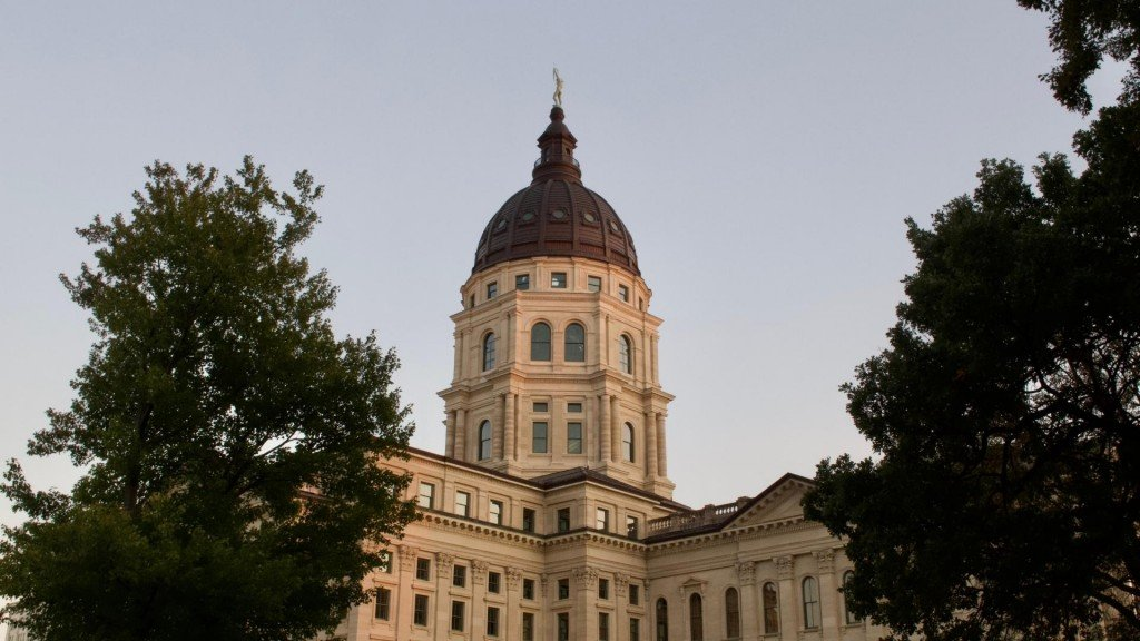 Kansas State Capitol Image From Canva
