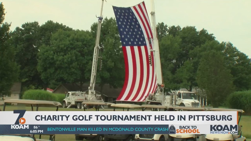 A Charity Golf Tournament Took Place In Pittsburg Today