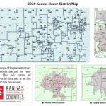 2020 Kansas House District Map From Kansas Association Of Counties