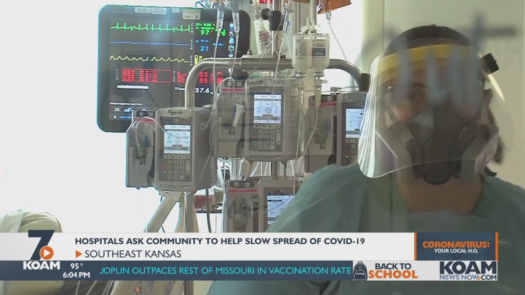 Southeast Kansas Hospitals Say They're Being Stretched Thin As Covid 19 Spreads Throughout The Community