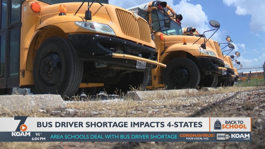 80 Percent Of Districts That Responded To A March Survey Are Having Trouble Finding Enough School Bus Drivers