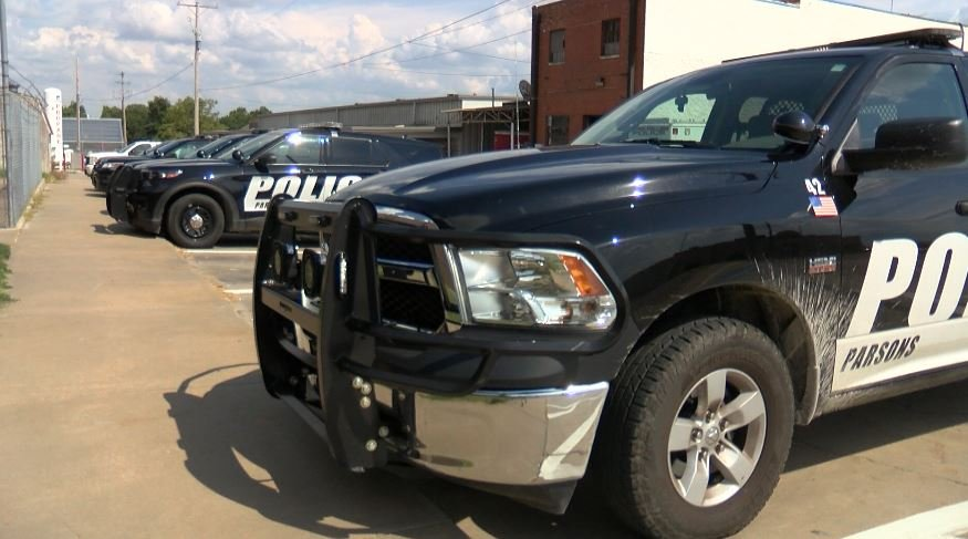 Parsons Police Department Patrol Cars