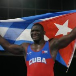 Olympics Latest: Cuba's Lopez 1st Man With 4 Wrestling Golds