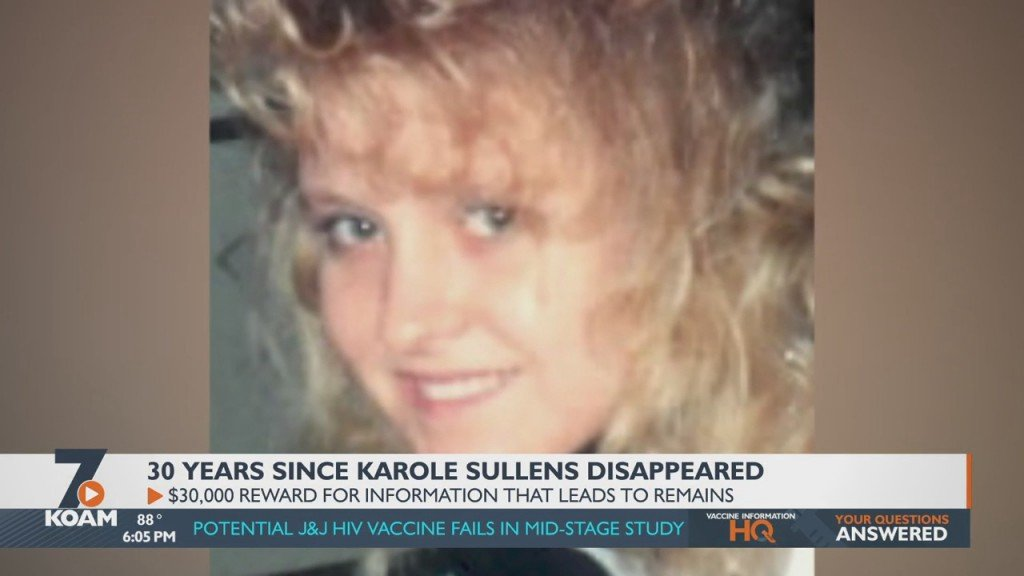 Reward Offered For Help In Solving 30 Year Old Case