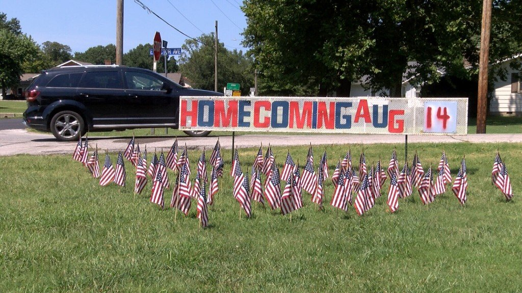 A Sign For Armas 75th Annual V J Homecoming