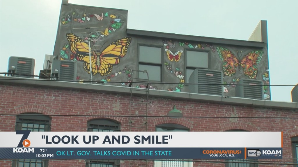 A Joplin Artist Is Using His Talents To Beautify The Downtown Area