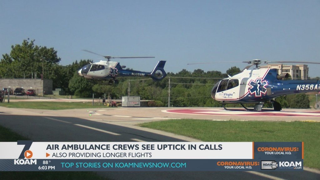 Pandemic Adds Stress To Area Medflight Workers
