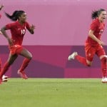 Canada Upsets Us With 1 0 Win In Women's Soccer