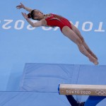 Olympics Latest: Chinese Gymnasts Sweep Gold, Silver In Beam