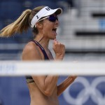Olympics Latest: Us Beach Volleyball Pair Into Quarterfinals