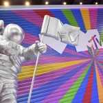 """Mtv Marks 40th Anniversary With A """"moon Person"""" Image"""