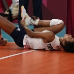 Olympics Latest: Us Volleyball Star Sits Out Pool Play Match