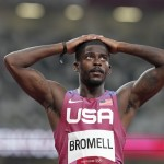 Olympics Latest: Bromell Fails To Qualify For 100 Final