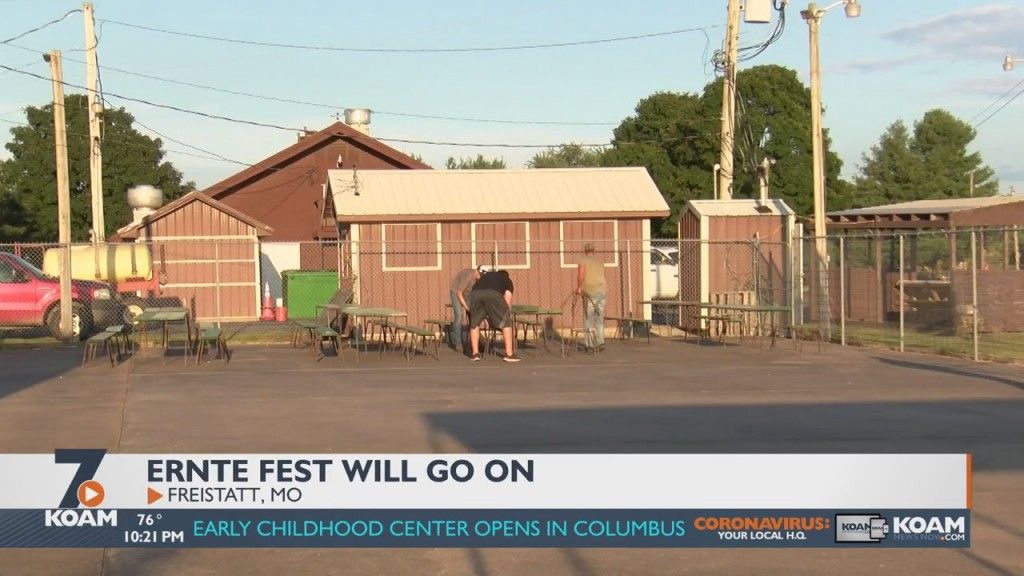 Ernte-Fest goes on as planned for 2021