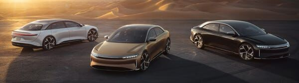 Range Record: Lucid Air Officially Breaks The 500 Mile Ev Barrier