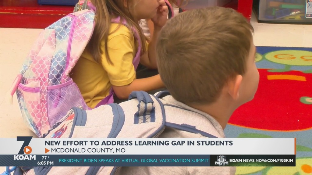 Virtual Learning Due To The Pandemic Caused A Strain For Many, But Younger Students In Early Childhood Development Seems To Be Hit The Hardest