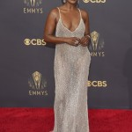 Rodriguez Wears Teal, Porter Sports Black Wings At Emmys