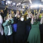 The Latest: Germany's Social Democrats Cheer Exit Poll