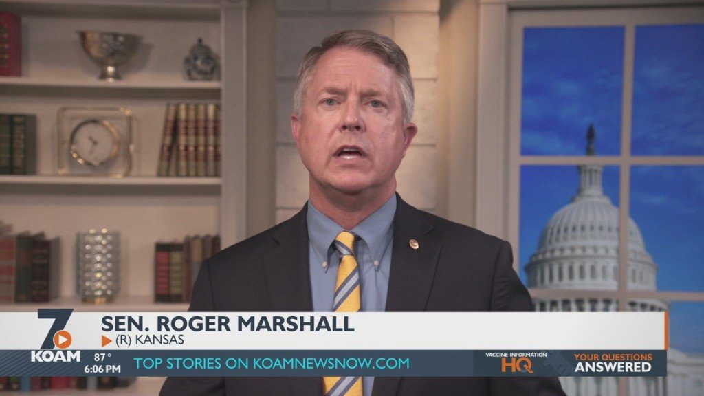 Senator Roger Marshal Introduces A New Bill Concerning Military Discharges.