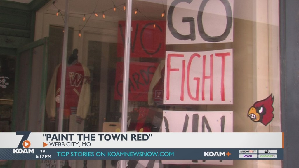 Webb City Paints The Town Red For Homecoming Week