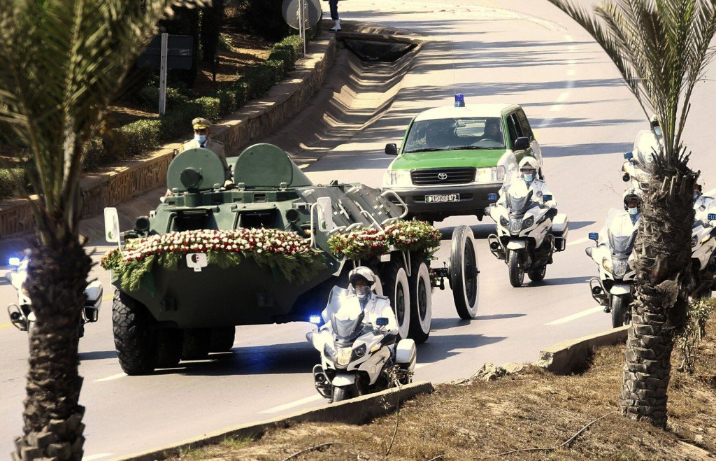 Former Algerian Leader Bouteflika Buried With Quiet Honors