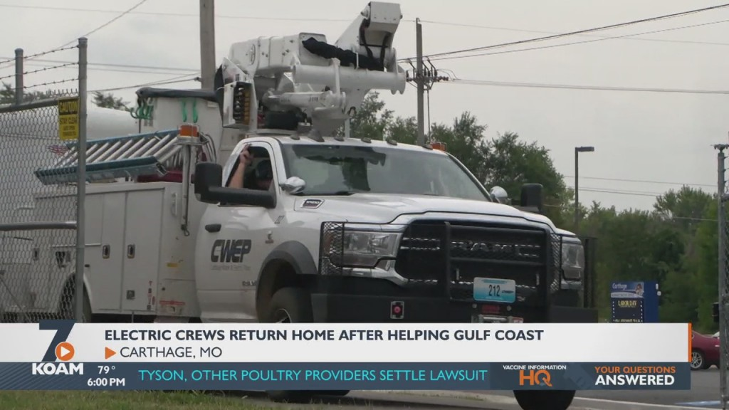 Volunteers Return To Carthage After Spending Almost A Week Helping Ida Victims.