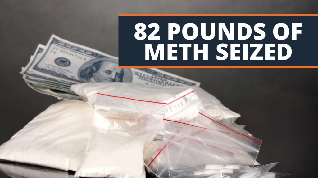 82 Pounds Of Meth Seized In Southeast Kansas